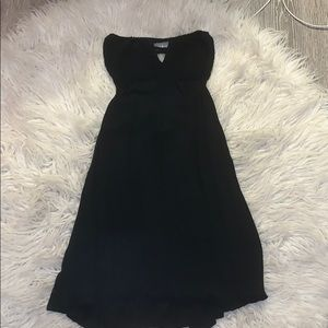 🌟 Tobi black strapless low back dress 🌟
